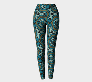 The Kylie Leggings-Clash Patterns