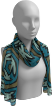 Load image into Gallery viewer, The Kylie Long Scarf in Greens