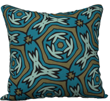 Load image into Gallery viewer, The Kylie Reversible Pillow in Greens