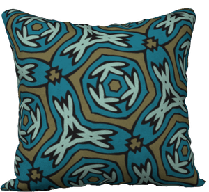 The Kylie Reversible Pillow in Greens