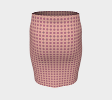 Load image into Gallery viewer, The Lindsay Fitted Skirt in Pink-Clash Patterns