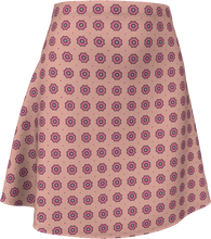 Load image into Gallery viewer, The Lindsay Flare Skirt in Pink