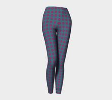 Load image into Gallery viewer, The Lindsay Leggings in Grey and Pink-Clash Patterns