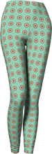 Load image into Gallery viewer, The Lindsay Leggings in Mint and Peach