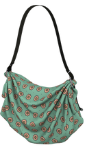Load image into Gallery viewer, The Lindsay Origami Bag in Mint and Peach