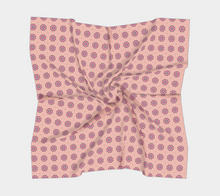Load image into Gallery viewer, The Lindsay Square Scarf in Pink