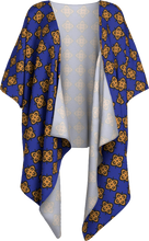 Load image into Gallery viewer, The Lorraine Kimono in Navy and Ochre