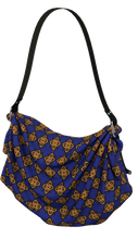 Load image into Gallery viewer, The Lorraine Origami Bag in Navy and Ochre