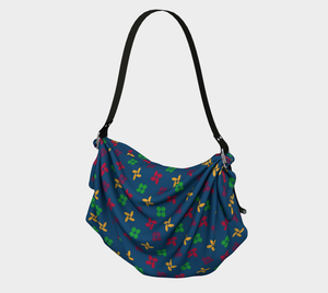 The Louise Origami Bag-Clash Patterns