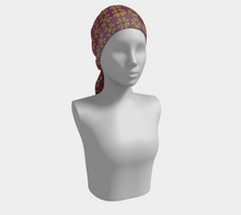 Load image into Gallery viewer, The Lucy Long Scarf in Magenta and Gold