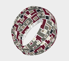 Load image into Gallery viewer, The Marguerite Headband in Neutral and Maroon