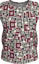 Load image into Gallery viewer, The Marguerite Tank Top in Neutral and Maroon