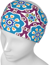 Load image into Gallery viewer, The Marianne Headband in Blue-Headband-Clash Patterns by Jennifer Akkermans