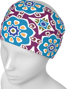 The Marianne Headband in Blue
