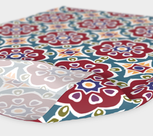 Load image into Gallery viewer, The Marianne Headband in Red-Clash Patterns