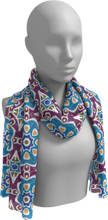 Load image into Gallery viewer, The Marianne Long Scarf in Blue