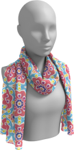 Load image into Gallery viewer, The Marianne Long Scarf in Pink