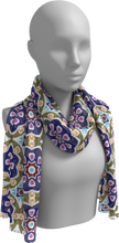 Load image into Gallery viewer, The Marianne Long Scarf in Purple