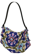 Load image into Gallery viewer, The Marianne Origami Bag in Purple-Origami Tote-Clash Patterns by Jennifer Akkermans