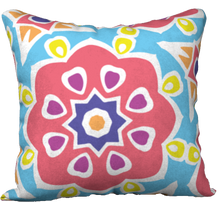 Load image into Gallery viewer, The Marianne Reversible Pillow in Pink