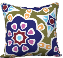 Load image into Gallery viewer, The Marianne Reversible Pillow in Purple