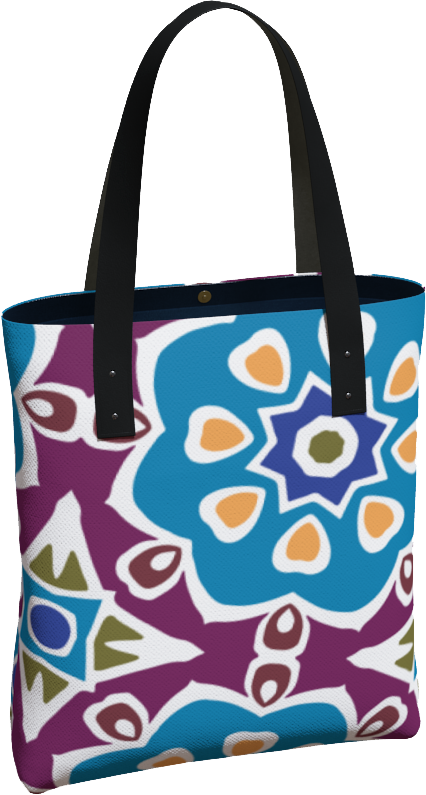The Marianne Tote Bag in Blue