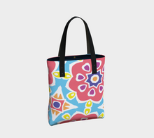 Load image into Gallery viewer, The Marianne Tote Bag in Pink-Clash Patterns