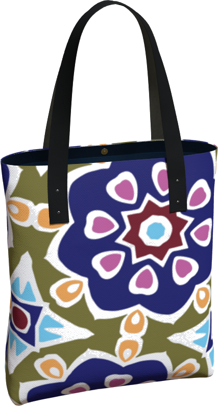 The Marianne Tote Bag in Purple
