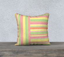 Load image into Gallery viewer, The Melanie Reversible Pillow-Clash Patterns