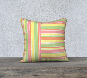 The Melanie Reversible Pillow-Clash Patterns