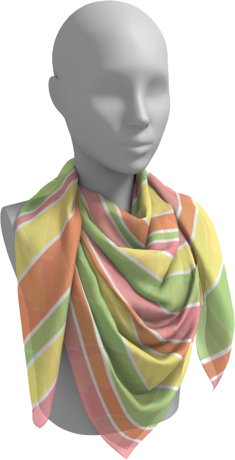 The Melanie Square Scarf