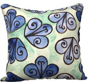 The Mildred Watercolour Pillow