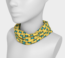 Load image into Gallery viewer, The Moira Headband in Yellow and Blue