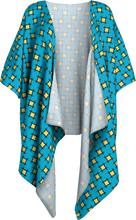 Load image into Gallery viewer, The Moira Kimono in Blue and Yellow