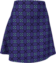 Load image into Gallery viewer, The Nadine Flare Skirt in Purple and Blue
