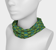 Load image into Gallery viewer, The Nadine Headband in Green and Blue