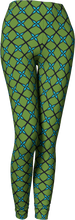 Load image into Gallery viewer, The Nadine Leggings in Green and Blue