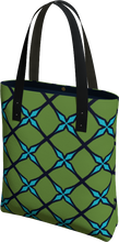 Load image into Gallery viewer, The Nadine Tote Bag in Green and Blue