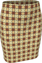 Load image into Gallery viewer, The Nancy Fitted Skirt in Wheat