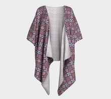 Load image into Gallery viewer, The Nancy Kimono in Mauve-Clash Patterns