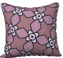 Load image into Gallery viewer, The Nancy Reversible Pillow in Mauve