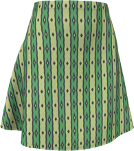 Load image into Gallery viewer, The Nicole Flare Skirt in Green