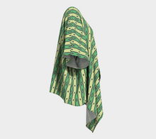 Load image into Gallery viewer, The Nicole Kimono in Green-Clash Patterns