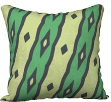 Load image into Gallery viewer, The Nicole Reversible Pillow in Green
