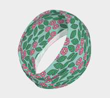 Load image into Gallery viewer, The Pamela Headband in Green and Pink