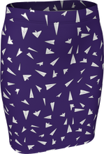 Load image into Gallery viewer, The Paper Planes Fitted Skirt in Purple