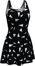 Load image into Gallery viewer, The Paper Planes Flare Dress in Black