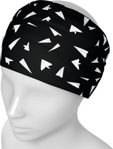 The Paper Planes Headband in Black