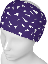 Load image into Gallery viewer, The Paper Planes Headband in Purple