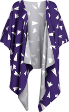 Load image into Gallery viewer, The Paper Planes Kimono in Purple